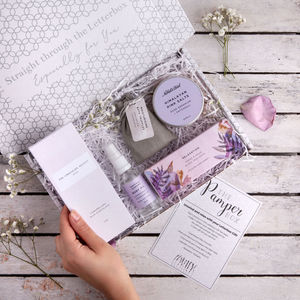 'The Pamper Box' Letterbox Gift Set - 50th birthday gifts