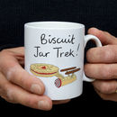 Biscuit Jar Trek Mug Gift For Him