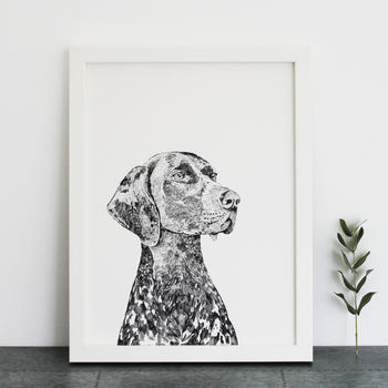 German Pointer Print