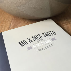 Personalised 'Best Day Ever' Wedding Guest Book