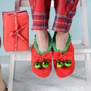 Christmas Slippers With Bells On
