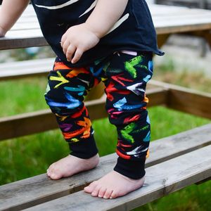 Rainbow Arrow Print Unisex Baby / Children's Leggings - clothing