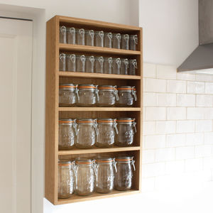 Storage Jar Larder - shelves