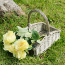 Personalised Vintage Wicker Trug