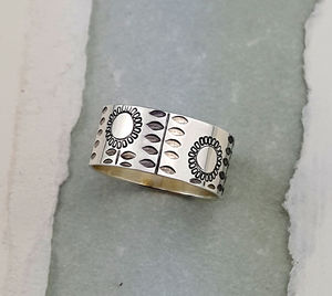 Sterling Silver Summer Ring - rings