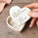 Personalised Engagement Gift Ring Box