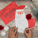 Christmas Personalised Letter To Santa Set