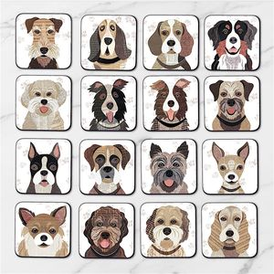 Dog Coasters 64 'Pawtrait' Designs - for dog lovers and cat lovers