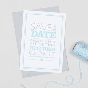 Amelia Save The Date Invitation