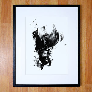 Gestural Abstract - posters & prints