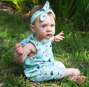 Mint Meadows Summer Romper