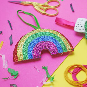 Rainbow Mini Decoration Sewing Craft Kit
