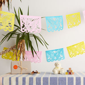 Fun Shower Mexican Paper Bunting