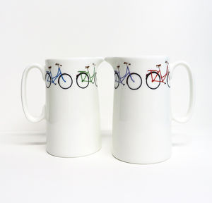Half Pint Bike Milk Jug - kitchen