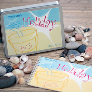 Personalised Children's Holiday Memory Book