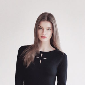 Boatneck Top In Fine Merino Black Wool - winter sale