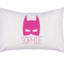 Personalised Batman Pillowcase