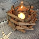 Nautical Driftwood Tea Light Holder
