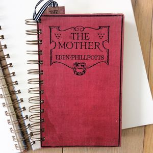 'The Mother' Upcycled Notebook