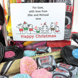 Personalised Retro Liquorice Sweets Gift Jar - personalised