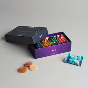 Luxury Mixed Cocktail Alcoholic Sweets | Box Of Eight - 40th birthday gifts