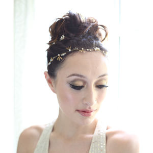 Zena Bridal Hair Vine And Matching Pins