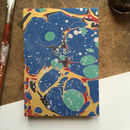 Personalised Hand Marbled Stone Journal