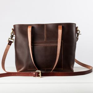 Leather Tote '' Eden '' - cross-body bags