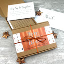Personalised Christmas Monthly Gift Box