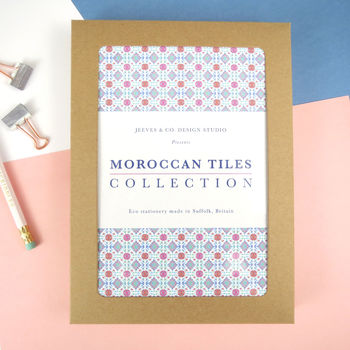 Personalised Moroccan Tiles Writing Paper