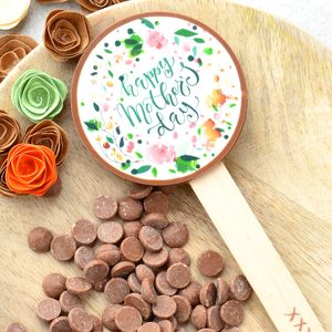 'Happy Mother's Day' Floral Print Chocolate Gift - chocolates & confectionery