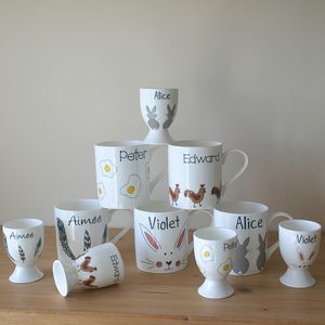 Personalised Egg Cup - new in home