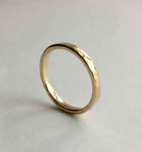 9ct Yellow Solid Eco Gold 'Engagement Promise' Ring - engagement rings