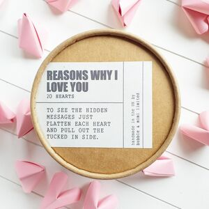 Origami 'Reasons Why I Love You' Pot