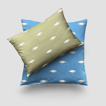 Rudd Fish Print Cushion