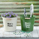 Personalised Gardening Bucket With Tools