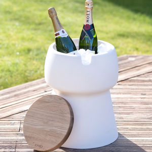 Champagne Cork Stool / Ice Bucket