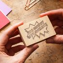 Personalised Pop Art Teacher Reward Rubber Stamp