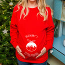 'Mummy's Little Pudding' Mum To Be Christmas Jumper
