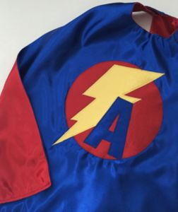 Child's Personalised Superhero Cape