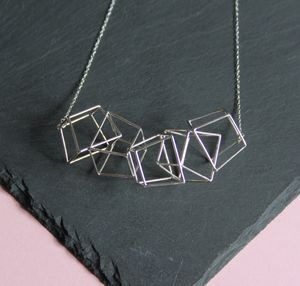 Five Prism Necklace - necklaces & pendants