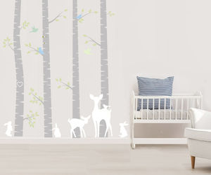 Birch Tree Wall Stickers - home decorating