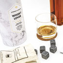Whisky Glasses And Cooling Stones Gift Set