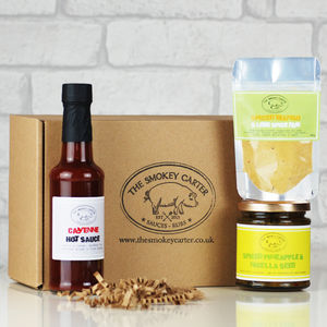 Build Your Own Barbecue Sauce And Spice Box Gift Set - sauces & seasonings