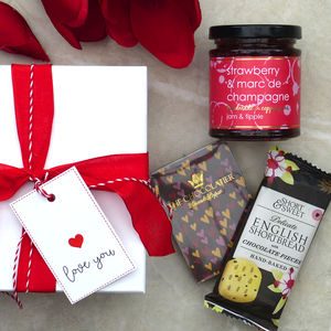 Valentine's Day Gift Set Of Fine Foods - cakes & sweet treats