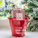 Personalised Family Festive Quiz Bucket