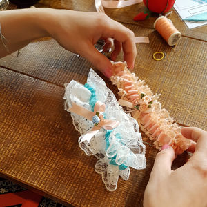 Garter Making Hen Party Experience Available Nationwide