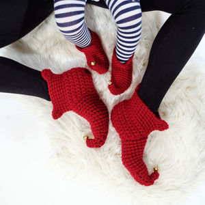 Mummy And Me Elf Slippers