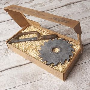 Chocolate Hacksaw And Saw Blade Gift Box