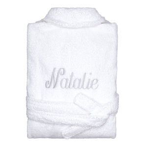 Personalised Spa Bath Robe